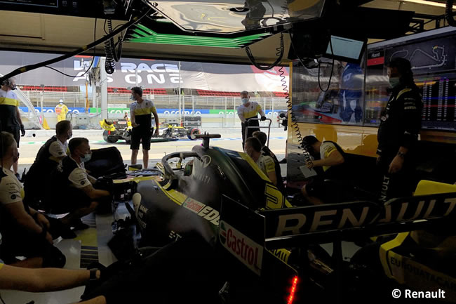 Daniel Ricciardo - Renault - Clasificación - GP España