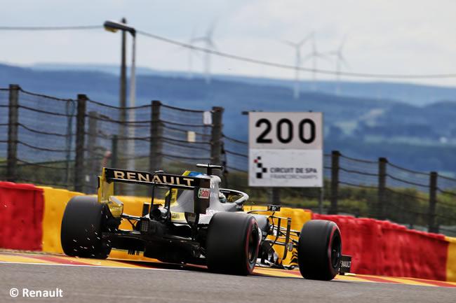 Daniel Ricciardo - Renault - Entrenamientos Libres - GP Bélgica 2020
