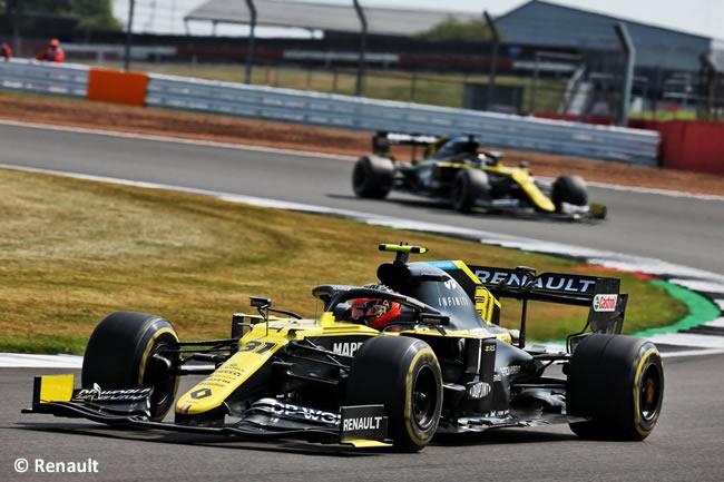 Esteban Ocon - Renault - 70º GP Aniversario
