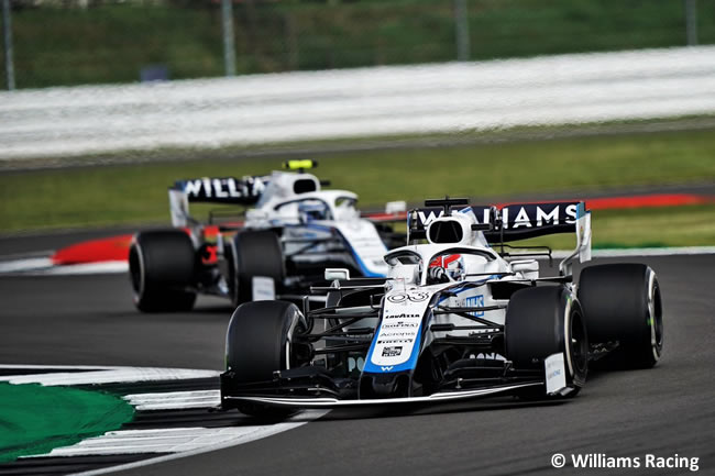 George Russell - Williams -Carrera - GP de Gran Bretaña - Silverstone 2020