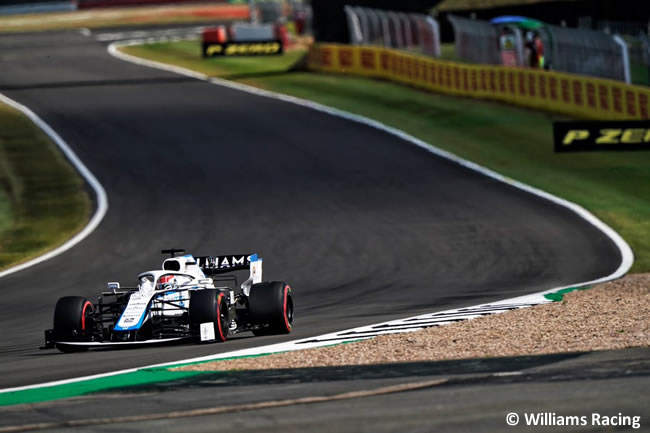 George Russell - Williams - Clasificación - 70º GP Aniversario