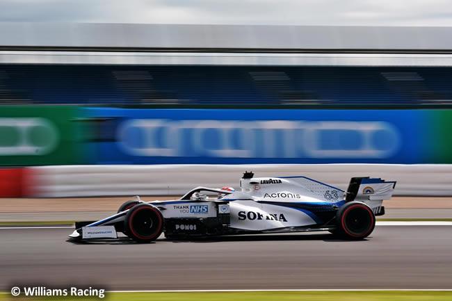 George Russell - Williams - Clasificación - GP de Gran Bretaña - Silverstone 2020