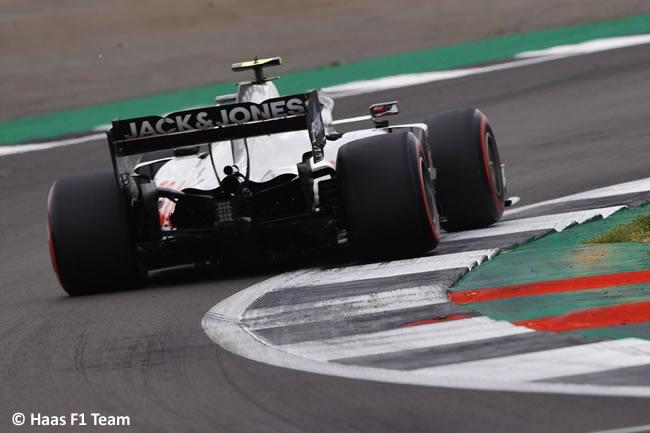 Haas - Entrenamientos - 70º GP Aniversario
