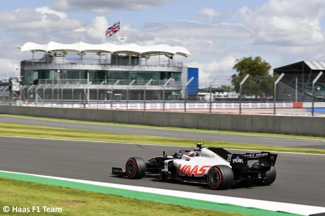 Kevin Magnussen - Haas - Clasificación - GP de Gran Bretaña - Silverstone 2020