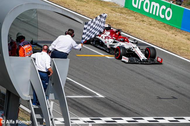 Kimi Raikkonen - Alfa Romeo - Carrera - GP España