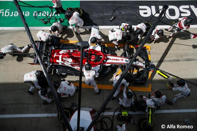 Kimi Raikkonen - Alfa Romeo - Carrera - GP de Gran Bretaña - Silverstone 2020
