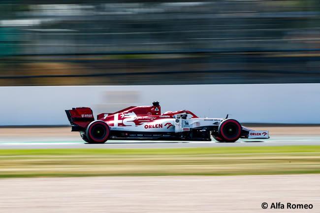 Kimi Raikkonen - Alfa Romeo - Clasificación - 70º GP Aniversario