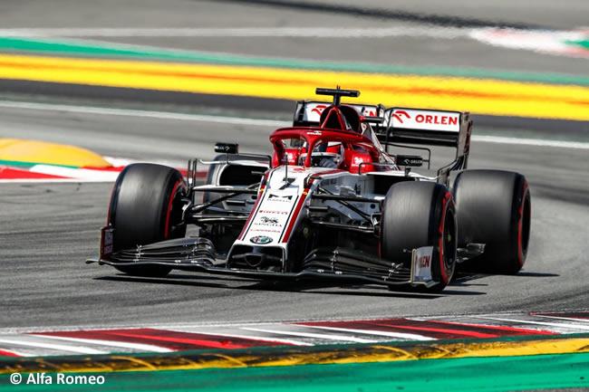 Kimi Raikkonen - Alfa Romeo - Clasificación - GP España