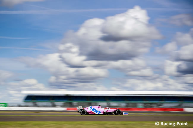 Lance Stroll - Racing Point - Carrera - GP de Gran Bretaña - Silverstone 2020