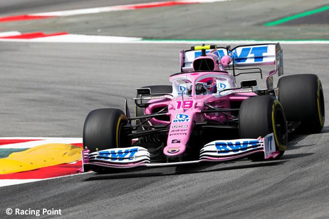 Lance Stroll - Racing Point - Entrenamientos Libres - GP España