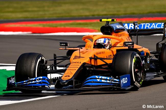 Lando Norris - McLaren - 70º GP Aniversario