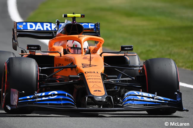Lando Norris - McLaren - Carrera - GP de Gran Bretaña - Silverstone 2020