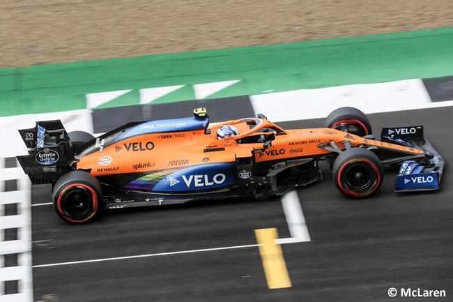 Lando Norris - McLaren - Clasificación - 70º GP Aniversario