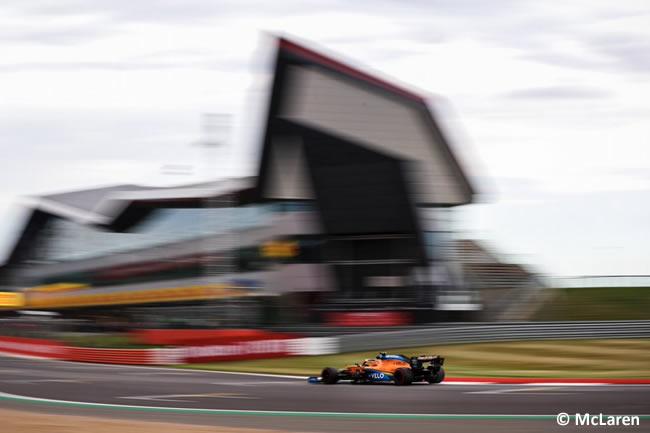 Lando Norris - McLaren - Entrenamientos - 70º GP Aniversario