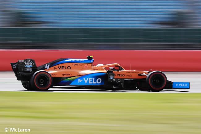 Lando Norris - McLaren - Clasificación - GP de Gran Bretaña - Silverstone 2020
