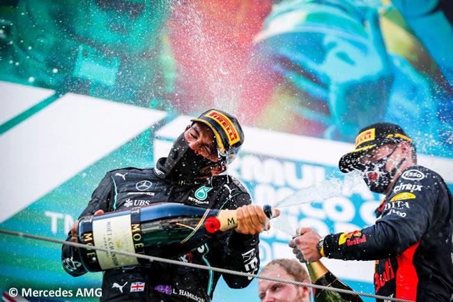 Lewis Hamilton - Mercedes - Carrera - GP España