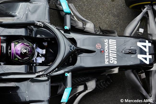Lewis Hamilton - Mercedes - Clasificación - GP Bélgica 2020