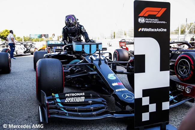 Lewis Hamilton - Mercedes - Clasificación - GP España
