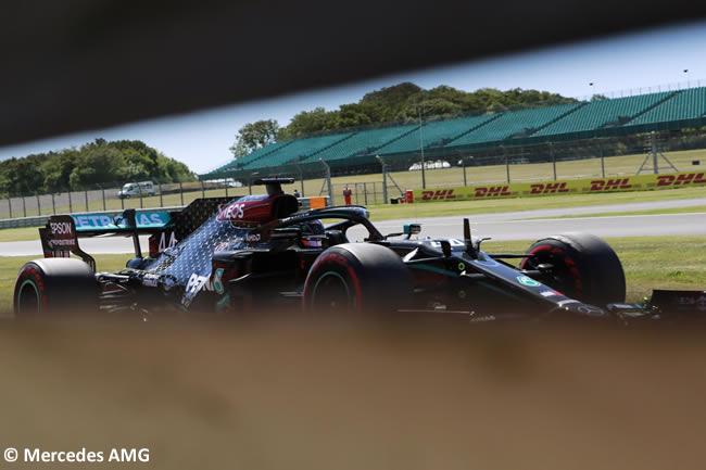 Lewis Hamilton - Mercedes - Entrenamientos - 70º GP Aniversario