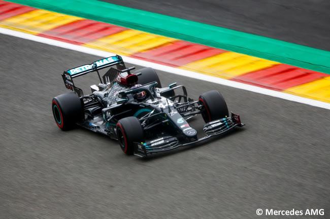 Lewis Hamilton - Mercedes - Entrenamientos Libres - GP Bélgica 2020