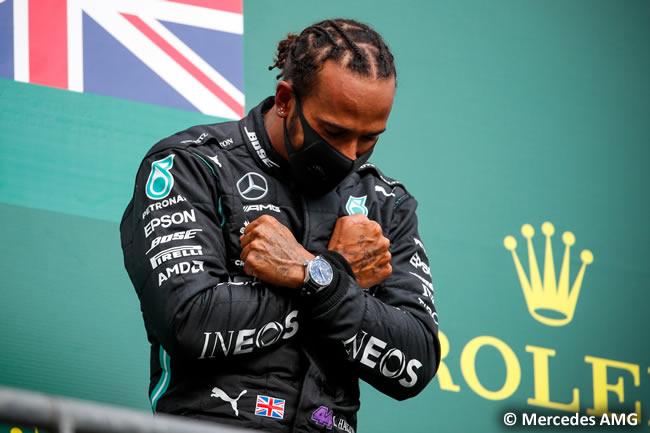 Lewis Hamilton - Mercedes - Carrera- GP Bélgica 2020