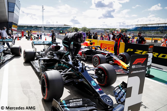 Lewis Hamilton - Mercedes - Clasificación - GP de Gran Bretaña - Silverstone 2020