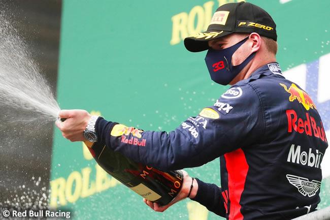 Max Verstappen - Red Bull - Carrera- GP Bélgica 2020