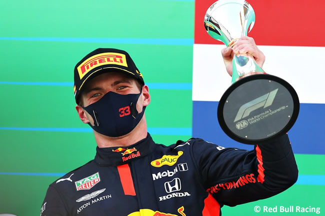 Max Verstappen - Red Bull - Carrera - GP España