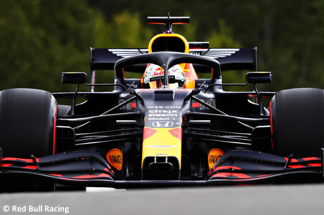 Max Verstappen - Red Bull Racing - Clasificación - GP Bélgica 2020
