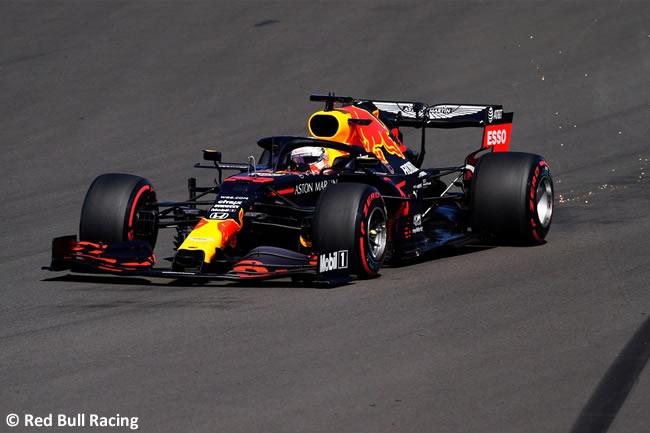 Max Verstappen - Red Bull - Entrenamientos - 70º GP Aniversario