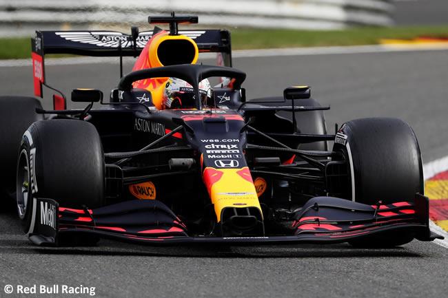 Max Verstappen - Red Bull - Entrenamientos Libres - GP Bélgica 2020