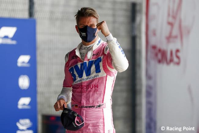 Nico Hulkenberg - Racing Point - Clasificación - 70º GP Aniversario