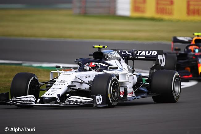 Pierre Gasly - AlphaTauri - Carrera - GP de Gran Bretaña - Silverstone 2020
