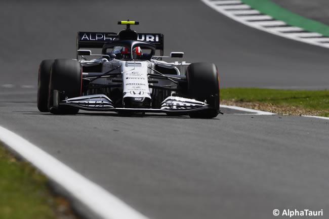Pierre Gasly - AlphaTauri - Clasificación - GP de Gran Bretaña - Silverstone 2020