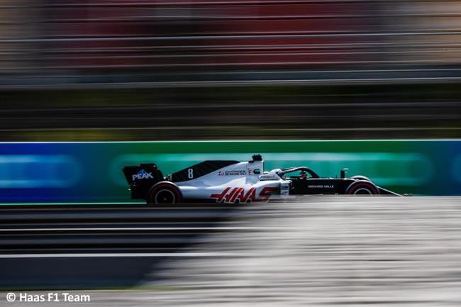 Romain Grosjean - Haas - Entrenamientos Libres - GP España