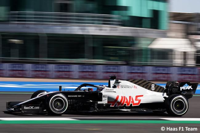 Romain Grosjean - Haas - 70º GP Aniversario