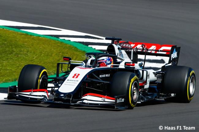 Romain Grosjean - Haas - Clasificación - 70º GP Aniversario