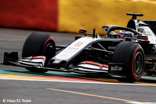 Romain Grosjean - Haas - Clasificación - GP Bélgica 2020