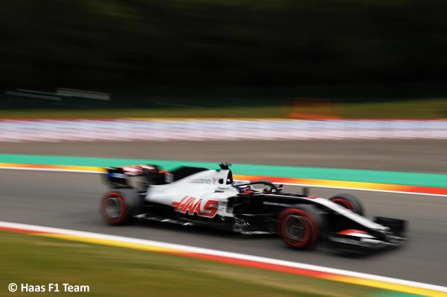Romain Grosjean - Haas - Entrenamientos Libres - GP Bélgica 2020