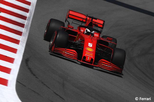 Sebastian Vettel - Scuderia Ferrari - Carrera - GP España