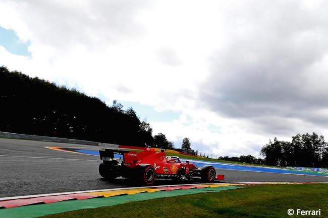Sebastian Vettel - Ferrari - Clasificación - GP Bélgica 2020