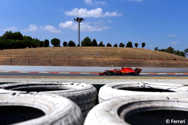 Sebastian Vettel - Scuderia Ferrari - Clasificación - GP España