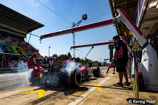 Sergio Pérez - Racing Point - Clasificación - GP España
