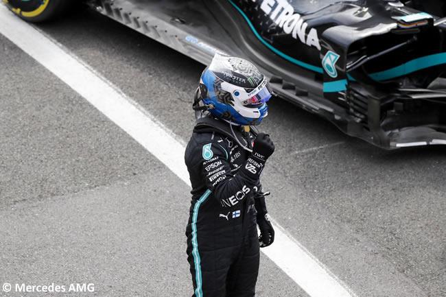 Valtteri Bottas - Mercedes - Clasificación - 70º GP Aniversario
