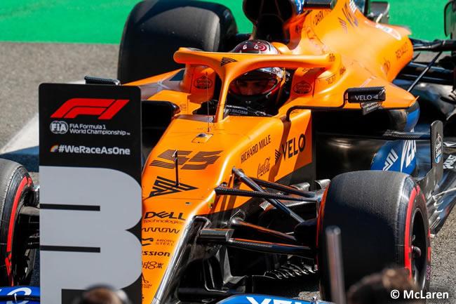 Carlos Sainz - McLaren - Clasificación - GP de Italia - Monza - 2020