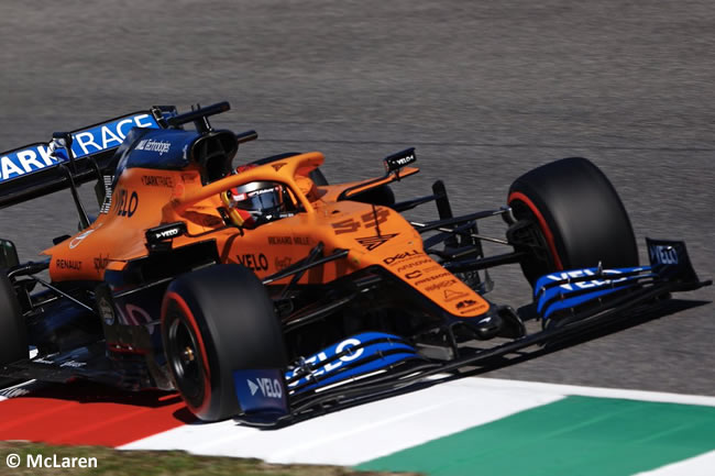 Carlos Sainz - McLaren - Gran Premio Toscana - Mugello - 2020
