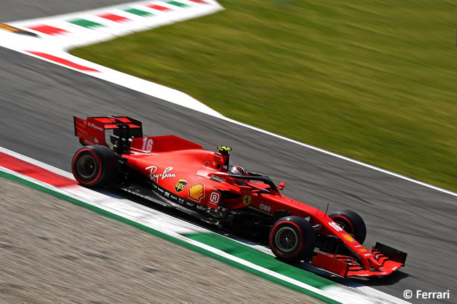 Charles Leclerc - Ferrari - Clasificación - GP de Italia - Monza - 2020