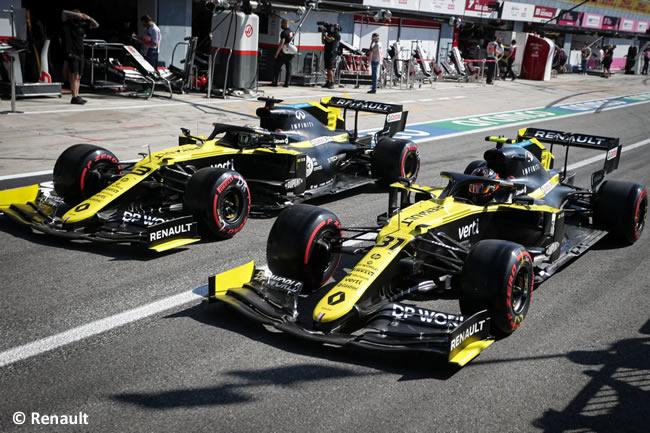 Daniel Ricciardo - Renault - Clasificación - GP de Italia - Monza - 2020