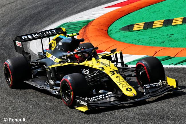 Esteban Ocon - Renault - Entrenamientos Libres GP de Italia - Monza - 2020