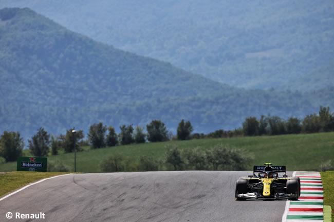 Esteban Ocon - Renault - Entrenamientos - Gran Premio Toscana - Mugello - 2020